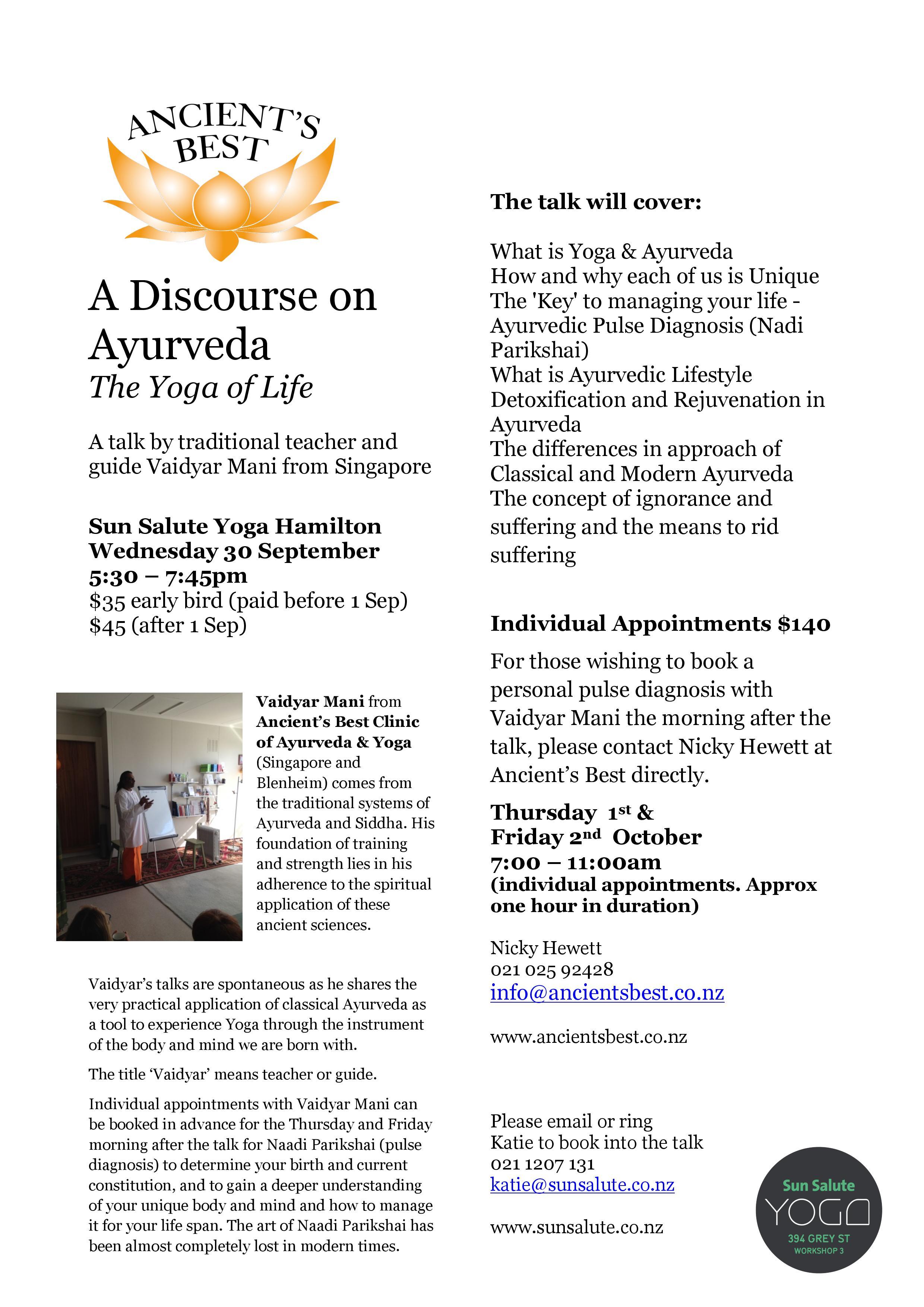 A Discourse on Ayurveda jpeg